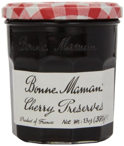 Bonne Maman Cherry Preserves, 13 oz (1 count)