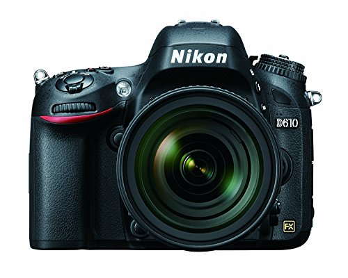 Nikon D610 24.3 MP CMOS FX-Format Digital SLR Camera with 24-85mm f/3.5-4.5G ED VR Auto Focus-S Nikkor Lens