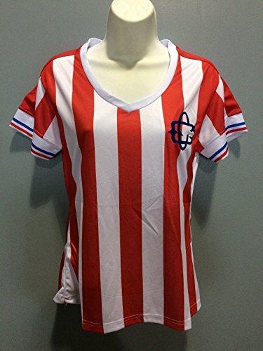Soccer Chivas de Guadalajara 110 Years Anniversary Liga MX Womens Jersey Pumas America Chivas (X-Large)