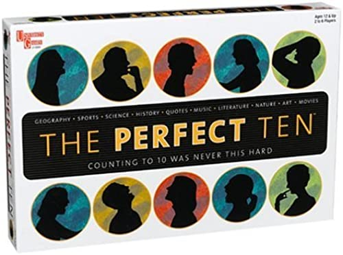 costo real The Perfect 10 Board Game by University University University Games  Esperando por ti