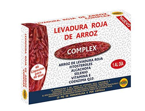 Robis - Rode Gist Rijst Natuurlijk Voedingssupplement - 40 Capsules