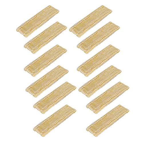 Youmine 12 Piezas de PaaO de Microfibra para Fregona Karcher WV2 WV5, Accesorios de Repuesto para MáQuina de Limpieza de Ventanas para el Hogar