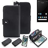 K-S-Trade® For Carbon 1 MKII Mobile Phone Case & Wallet