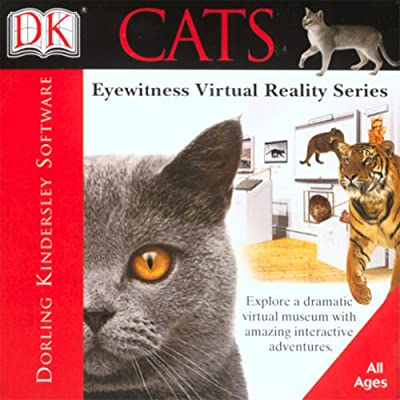 DK Eyewitness Virtual Reality: Cats