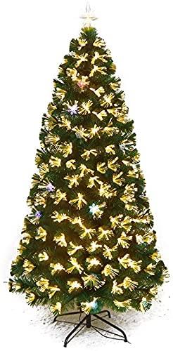 LIOYUHGTFY Navidad Decoración Arbol Navidad Artificial Árbol de Navidad Iluminado de Abeto...