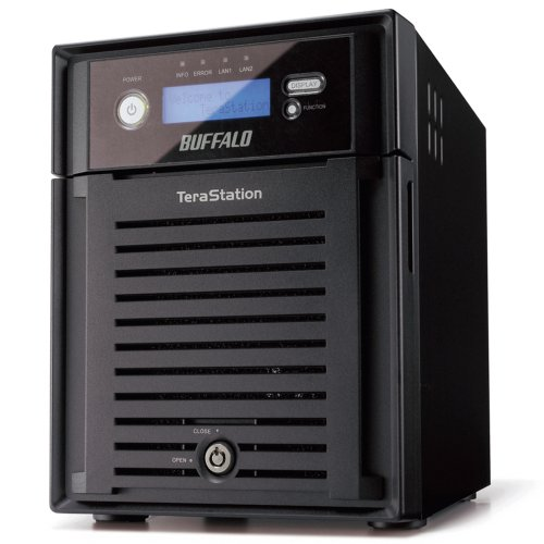 BUFFALO TeraStation Pro Quad WSS Storage Server 4-Bay 4 TB (4 x 1 TB) RAID Windows Storage Server - WS-QV4.0TL/R5
