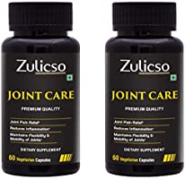 Zulicso Joint Care Veg Capsules 500mg | Herbal & Natural Supplement for Bone Health |