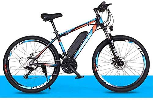 Bici electrica, Eléctrica de bicicletas de montaña for adultos, 250W Ebike 26' Bicicletas todo terreno a prueba de golpes, 36V 10Ah extraíble de iones de litio de bicicletas de montaña Hombres Mujeres