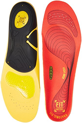 KEEN Utility Men's K-30 Gel Insole for High Arches Accessories, Red, L