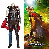 Action Figure Thor: Costume Cosplay Ragnarök Film Cosplay Collant Serie Completa Uniforms for Halloween di Natale (16 Pezzi) - Regali di Natale di Halloween L