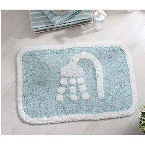 Qingday Chenille Badmat, antislip, hoogpolig en zachte, absorberende vloerbedekking, wasbaar, knuffelig tapijt, perfect voor de badkamer