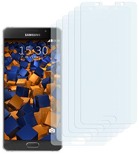 mumbi Schutzfolie kompatibel mit Samsung Galaxy A5 2016 Folie klar, Bildschirmschutzfolie (6X)