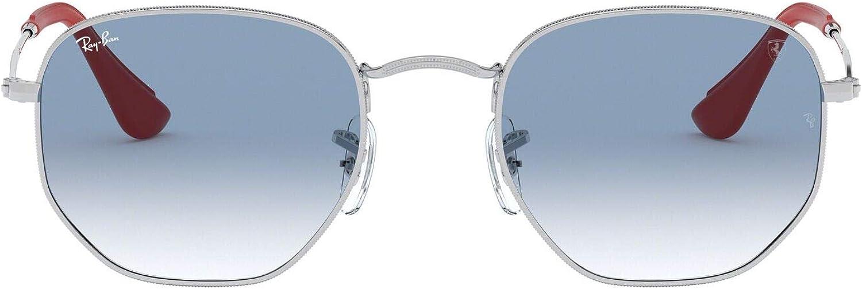 Ray-Ban RB3548NM 51 Lunettes de soleil pour homme et femme 51 mm Argenté (Silver/Blue Gradient)