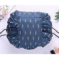 Large Capacity Lazy Makeup Toiletry Bag Drawstring Portable Travel Casual Waterproof Quick Pack Magi...
