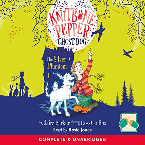 Knitbone Pepper Ghost Dog and the Silver Phantom cover art