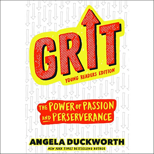 Grit: Young Readers Edition audiobook cover art