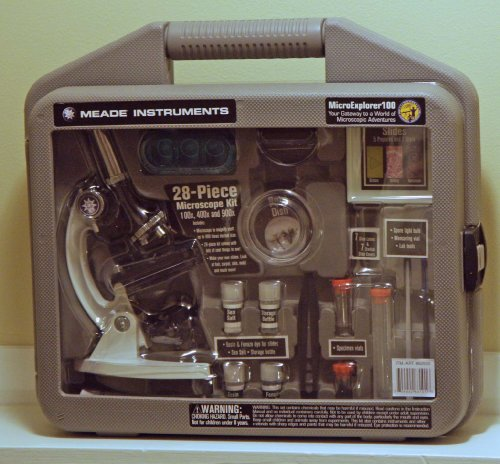 Microexplorer100 28-piece Microscope Kit