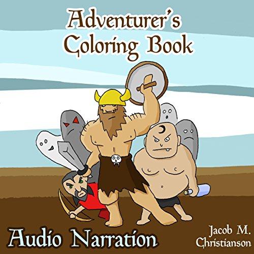 Adventurers Coloring Book audiobook cover art