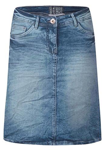 Cecil Damen 360235 Rock, Blau (Mid Blue Used Wash 10320), 46 (Herstellergröße: 36)