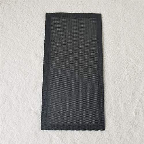 Durable Red magnética a Prueba de Polvo de PVC 1224 cm Cubierta de Filtro Adsorción magnética para Ventilador de chasis - (Longitud del Cable: Red a Prueba de Polvo, Color: Negro)