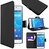 ebestStar - Coque Compatible avec Sony Xperia M2 D2302 D2303 Etui PU Cuir Housse Portefeuille...