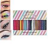 20 Colors Eyeliner Marron Matte