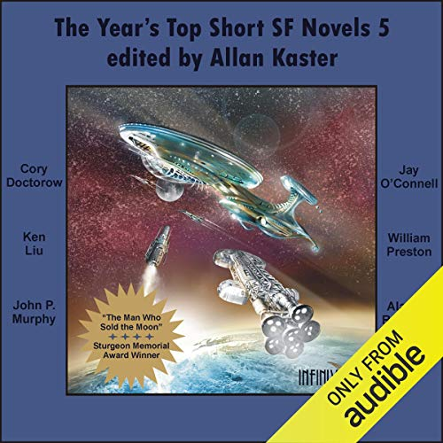 The Year's Top Short SF Novels 5 cover art