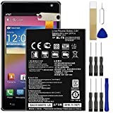 Replacement Battery BL-T5 for LG Google Nexus 4 E960 Battery Free Adhesive Tool