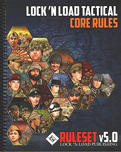 Lock 'n Load Tactical Core Rules v5.0 Spiral-Bound