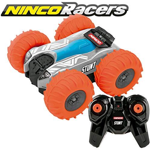 Ninco NincoRacers-Stunt Orange. Coche teledirigido Reversible y Acrobático. 27/40M hz (NH93134) Color naranja. Medidas: 13 cm x 12,5 cm x 8 cm. A partir de 6 años. (NH93130)