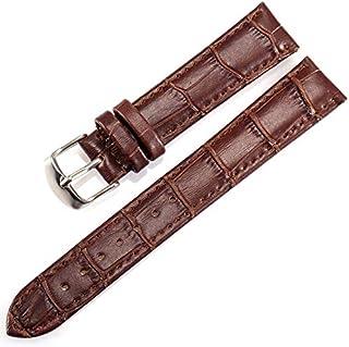 18ミリメートル本物のメンズ腕時計バンドビジネススタイル腕時計交換用バンド留め金バックルパターン絶妙なアクセサリー