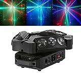 Tengchang 9X3W RGB 3in1 LED Spider Stage Moving Head Light DMX Bar KTV DJ Disco Lighting