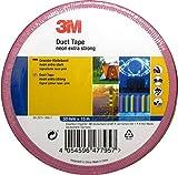 3M Premium Gewebeklebeband/Duct Tape, extra stark in Neon Signalfarbe (Neonpink)