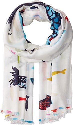 Vera Bradley Women s Soft Fringe Scarf Go Fish One Size product image