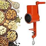 ROSEBEAR Molinillo de Café Molinillo de Granos Molino de Café Manual Máquina de Molienda de Cereales para Nueces Frijoles Semillas de Especias Maíz Trigo Avena