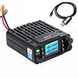 TYT TH-8600 Mini 25 Watt Dual Band Base, IP67 Waterproof Radio VHF: 144-148mhz (2m) UHF:420-450mhz (70cm) Amateur Car Mobile Transceiver (HAM) Free Cable
