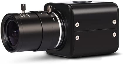 MOKOSE HDMI Camera, HD 2 MP 1080P HD Digital Security Camera, Industry Digital C-Mount Camera with 2.8-12mm Varifocal HD Lens, OSD Menu
