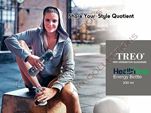 Milton TREO Health First Energy Borosilicate Glass Bottle (330ml)