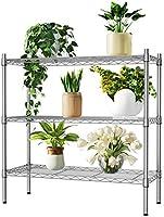 Auslar Lagerregal Metall Regalsystem Küchenregal Regal für Küche Büro Garage usw.