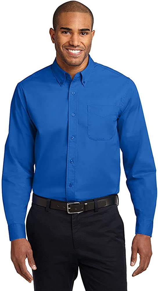 Men's Max 53% OFF Long Sleeve Wrinkle Resistant Care Shirts Limited price sale in Easy Regular