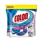 Colon Total Power Gel Caps Vanish - Detergente para lavadora con agentes quitamanchas, formato cápsulas - 32 dosis