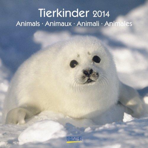 Tierkinder 2014. Broschürenkalender