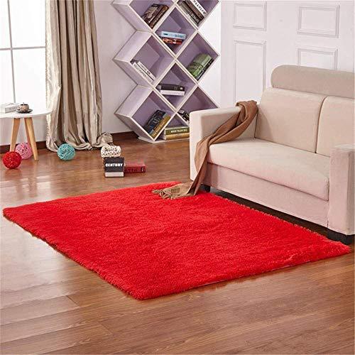 LCHENGJIN conciso pavimento tappeti 4.5CM spessore puro rosso...