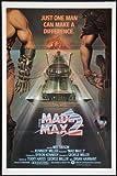 Mad Max 2Film Poster 28cm 4327,9x 43,2cm