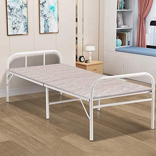HYY-YY Lit flexible portátil Lit pliant Lit simple pour déjeuner Dejeuner Bureau intérieur Balcón Patio Jardin Plage Meubles de bureau à domicile en plein air (Couleur: Mult