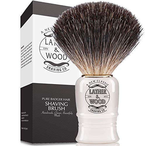 Pure Badger Shaving Brush –Premium Handmade in...