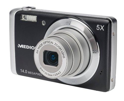 Medion Life P43015 Digitalkamera (14 Megapixel, 5-Fach Opt. Zoom, 6,9 cm (2,7 Zoll) Display, bildstabilisiert)