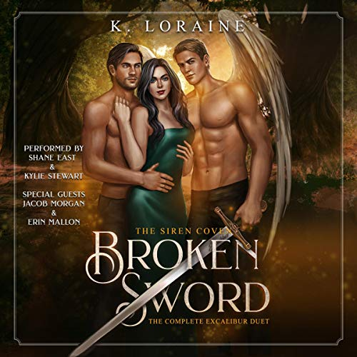 Broken Sword: The Excalibur Duet audiobook cover art