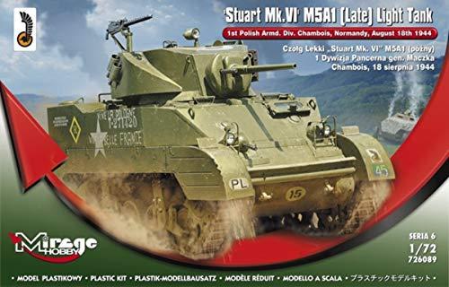 Mirage Hobby 726089 Fin – Modèle Kit de Stuart MK. VI M5 A1 Light Débardeur
