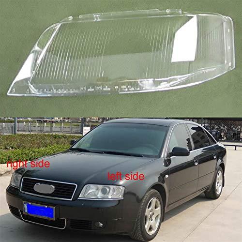 N\A Scheinwerferglas, Scheinwerferabdeckung Transparente Lampenschirm for A6 C5 1999 2000 2001 2002 Scheinwerferabdeckung Linsenglas Lampenschirm (Farbe : 1PCS Right Side)